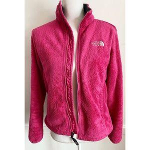 North Face • Magenta Pink Osito Fleece Zip Up